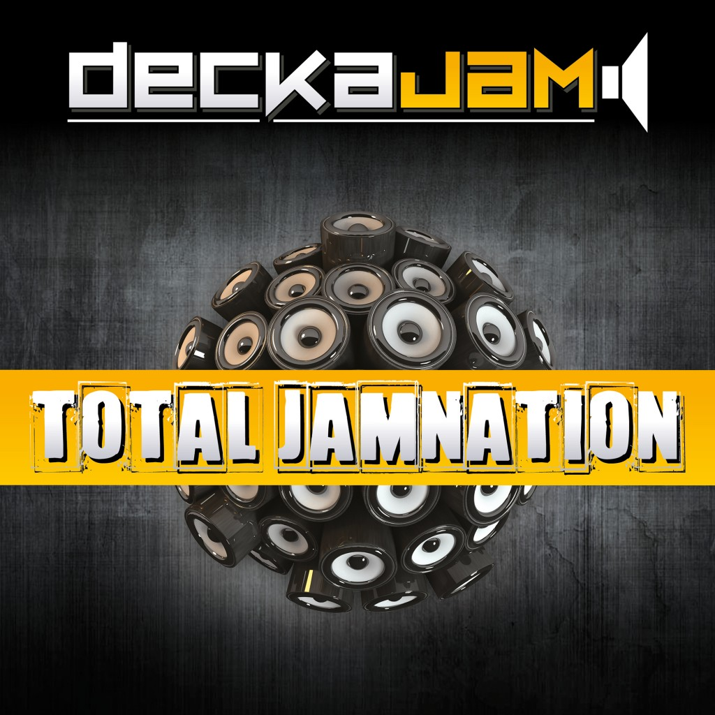DeckaJam album cover art for digital